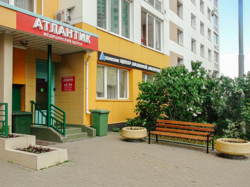 Фото входа в клинику