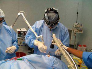 Рис. 2. Лазерная вапоризация бартолиновой кисты происходит быстро и безболезненно