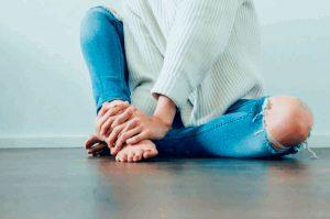 Рис. 2. Удаление кондилом лазером можно проводить на любом участке тела